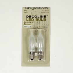 Spare Lightbulbs Candleholders LED 230V E10