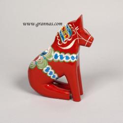 Sitting Horse 17cm