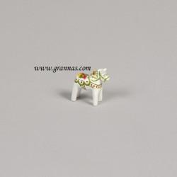Dalahorse White 3 cm